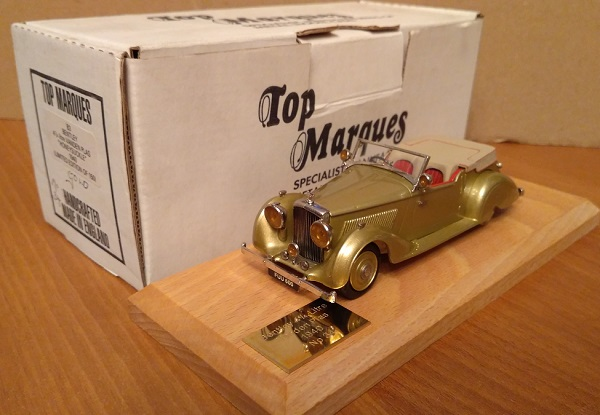 Модель 1:48 Bentley 4.25 Litre Vanden Plas