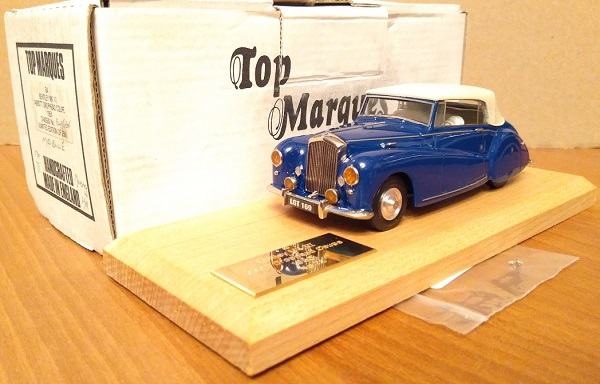 Модель 1:48 Bentley Mk VI Abbott Drophead Coupe Ch.№B495EW (L.E.250pcs)