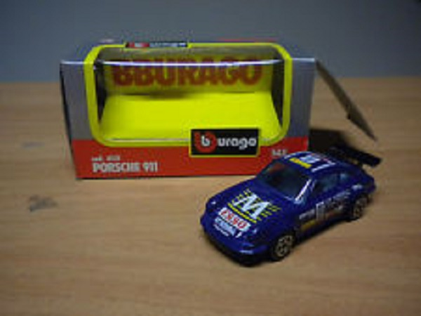 Модель 1:43 Porsche 911 RALLY LIT NATIONAL