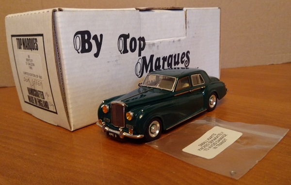 Модель 1:48 Bentley S1 Saloon - Green