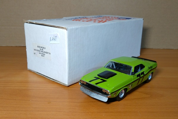 Модель 1:43 Dodge Challenger T/A race version