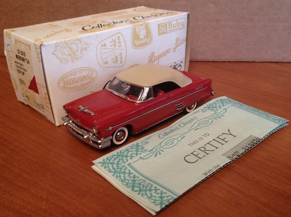 Модель 1:43 Mercury Monterey TOP UP