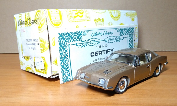 Модель 1:43 Studebaker Avanti C2-1CD - Gold