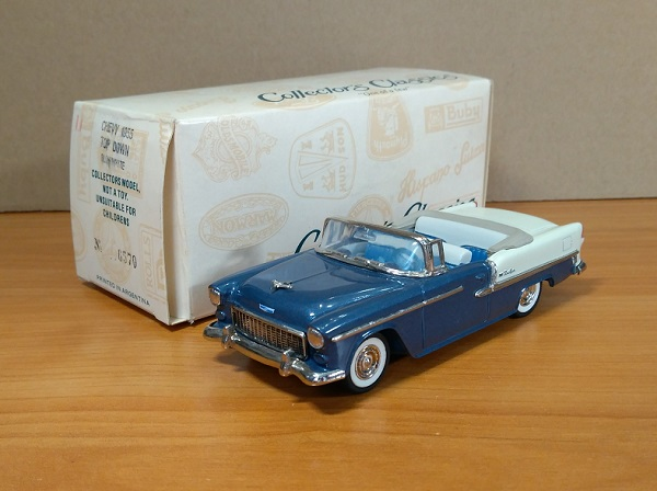 Модель 1:43 CHEVY 1955 TOP DOWN