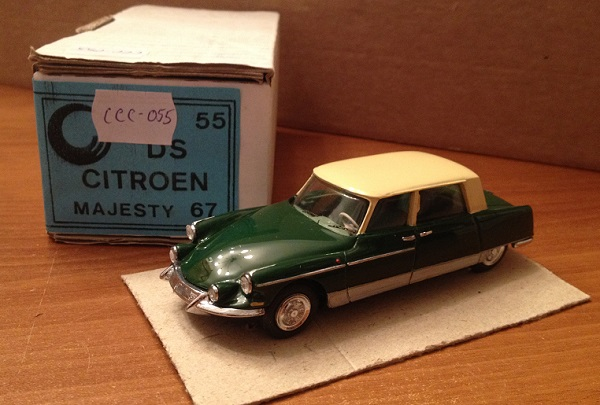 Модель 1:43 Citroen DS majesty