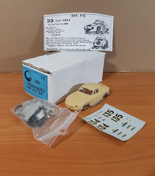 Модель 1:43 DB Panhard Tour Auto 56 (KIT)