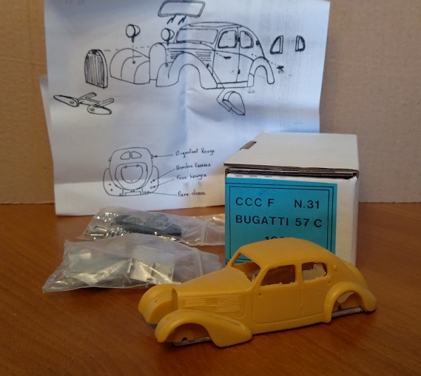 Модель 1:43 Bugatti 57 C Salon (KIT)