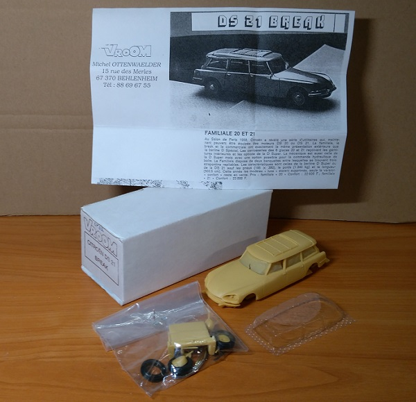 Модель 1:43 Citroen DS 21 Break (KIT)