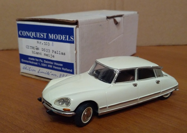 Модель 1:43 Citroen DS23 Pallas - White (L.E 88/150)