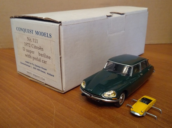Модель 1:43 Citroen D Super Berline WITH PEDAL CAR