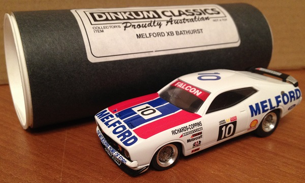 Модель 1:43 Ford Falcon №10 Xb Gt HardTop Bathurst Melford (Jim Richards)