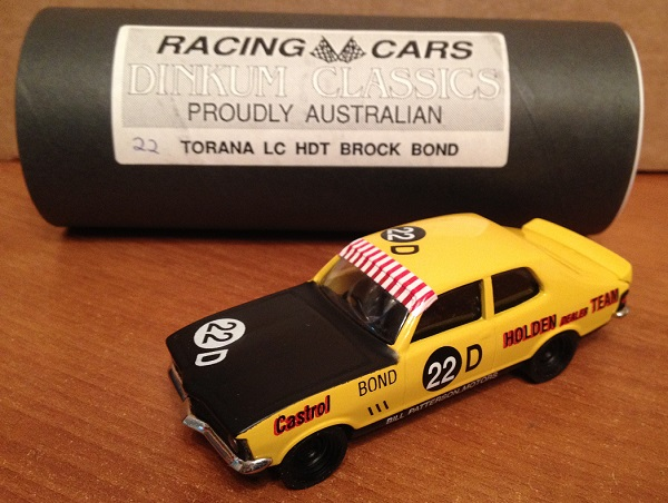 Модель 1:43 Holden Torana LC GTR XU-1 №22D Holden Dealer Team (Brock Bond)