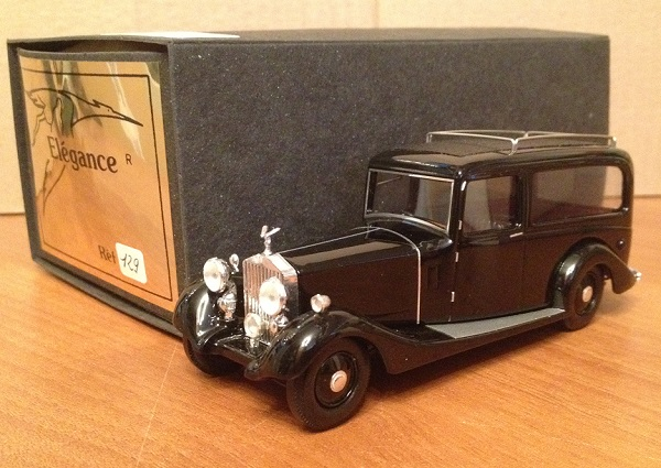 Модель 1:43 Rolls-Royce Hearse Phantom II Woodall Nicholson - black