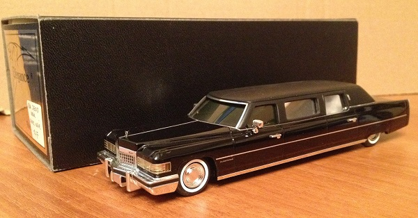 Модель 1:43 Cadillac 10 PASSAGERS Limousine du Roi Ibn Seoud d'Arabie (Wisco Corp Of Ferndale)