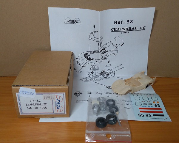 Модель 1:43 Chaparral 2C CAN AM 1965 (KIT)