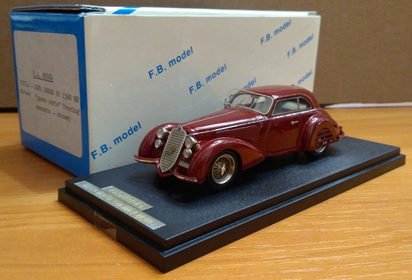 Модель 1:43 Alfa Romeo 6C 2300 MM Touring
