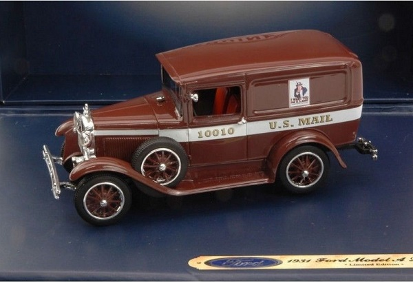 Модель 1:43 Ford Model A US Mail