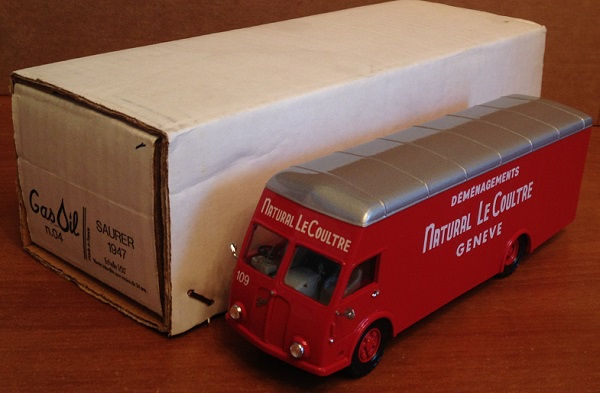 Модель 1:43 Saurer Van - Demenagement Natural Le Coultre Geneve