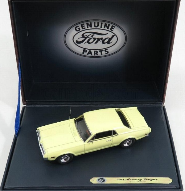 Модель 1:43 Mercury Cougar Coupe - cream
