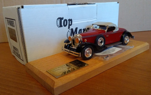 Модель 1:43 Rolls-Royce Phantom II Henley Roadster Ch.№285AJS (L.E.5 of 50pcs)