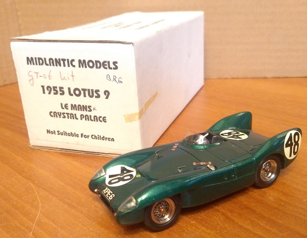 Модель 1:43 Lotus 9 №48 Le Mans Crystal Palace