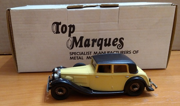 Модель 1:43 Alvis Speed 20 Mayfair Saloon