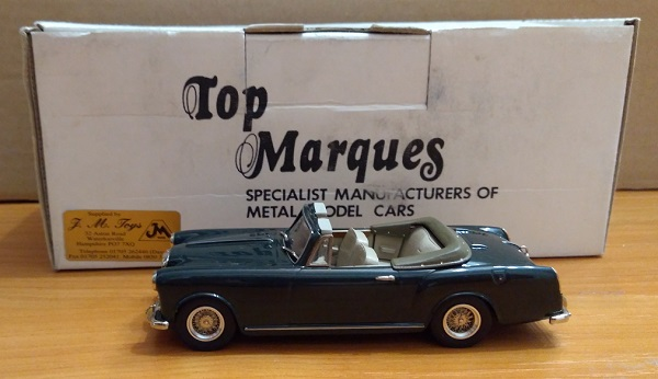 Модель 1:43 Alvis TD 21 Convertible Series II (L.E.100pcs - 70 open & 30 hood up)