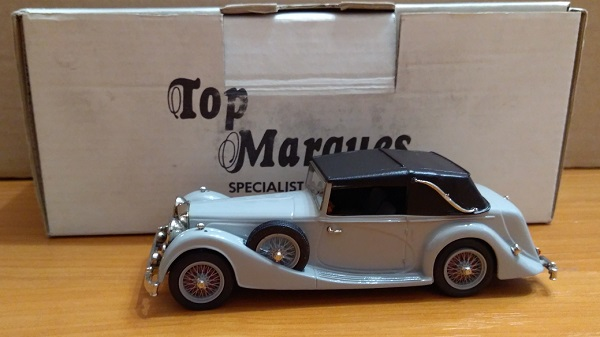 Модель 1:43 Alvis Speed 25 Charlesworth Convertible