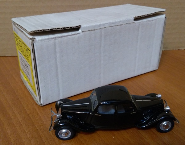 Модель 1:43 Citroen Traction Malterre 2-cars