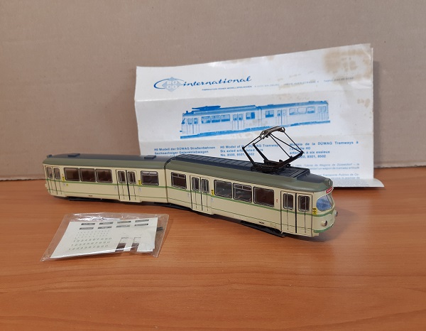 Модель 1:87 Duwag KVB-Koln Articulated Six-Axle Tram (Roco HO 8500)