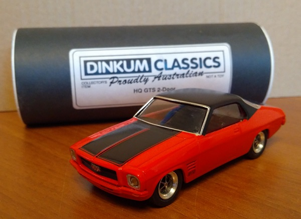 Модель 1:43 Holden HQ GTS 2-door