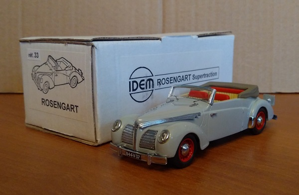 Модель 1:43 Rosengart Supertraction