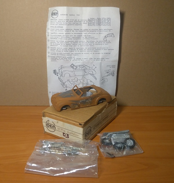 Модель 1:43 Hotchkiss Antheor (KIT)