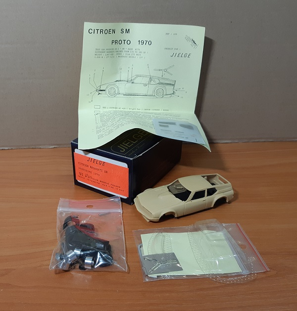 Модель 1:43 Citroen Maserati SM PROTOTYPE 1970 (KIT)