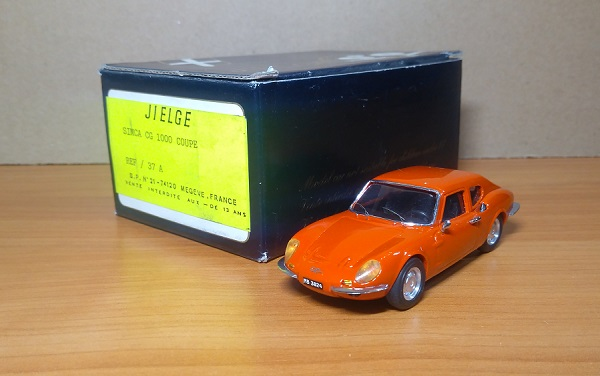Модель 1:43 Simca CG 1000 Coupe