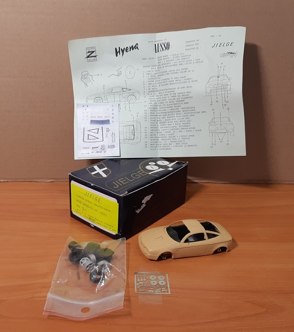 Модель 1:43 Lancia Hyena Zagato With Approval BY Lusso (KIT)
