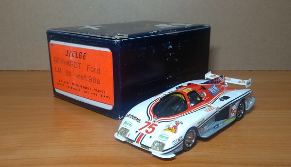 Модель 1:43 Gebhardt Ford JC 843 №75 8th Le Mans (Ian Harrower - E.Clements - T.Dodd Noble)