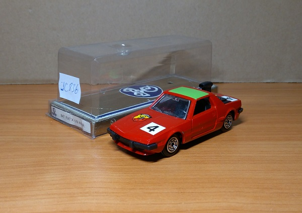 Модель 1:43 FIAT X1-9 Abarth №4 - red