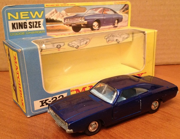 Модель 1:43 Dodge Charger - blue met/mint/loose