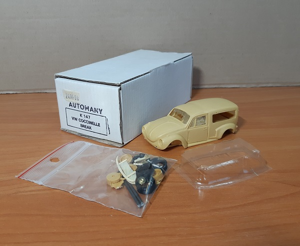 Модель 1:43 Volkswagen COCCINELLE BREAK (KIT)