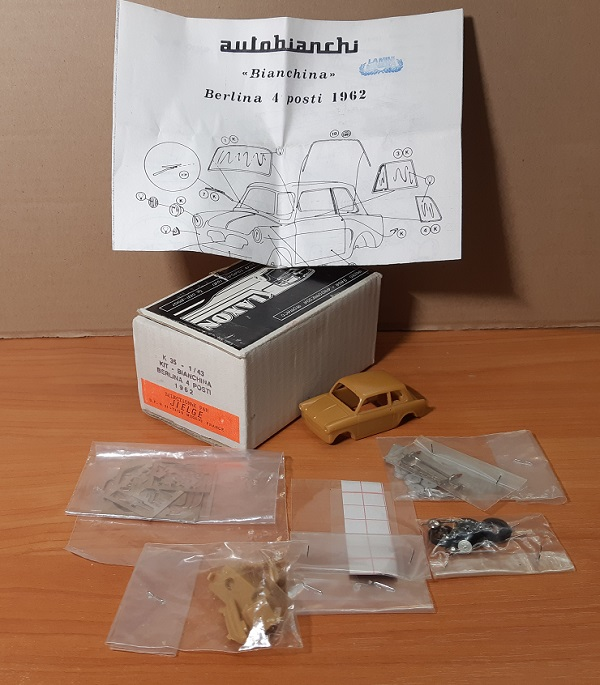 Модель 1:43 Bianchina Berlina 4 POSTI 1962 (KIT)
