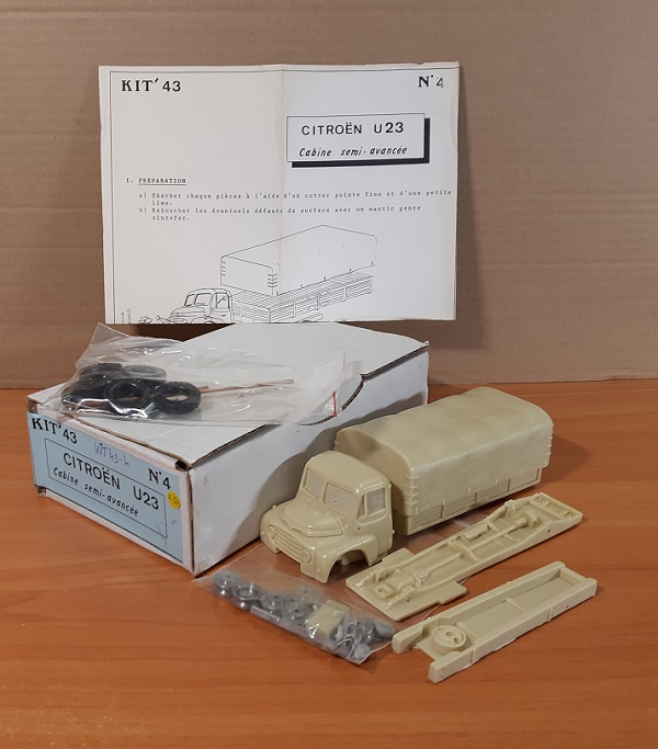 Модель 1:43 Citroen U23 Cabine Semi-Avancee (KIT)