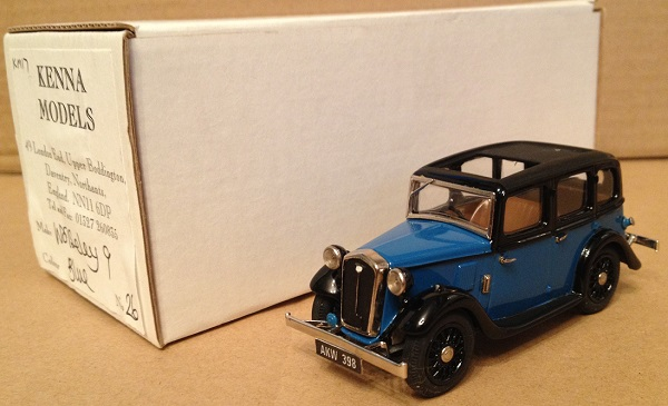 Модель 1:43 Wolseley 9 - Blue/Black