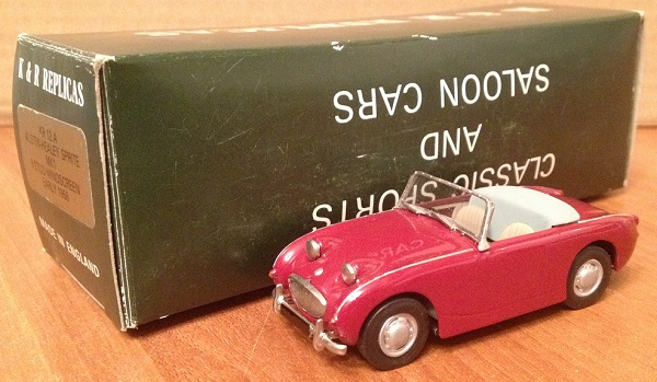 Модель 1:43 Austin-Healey Sprite MK1 9 Stud Windscreen Early