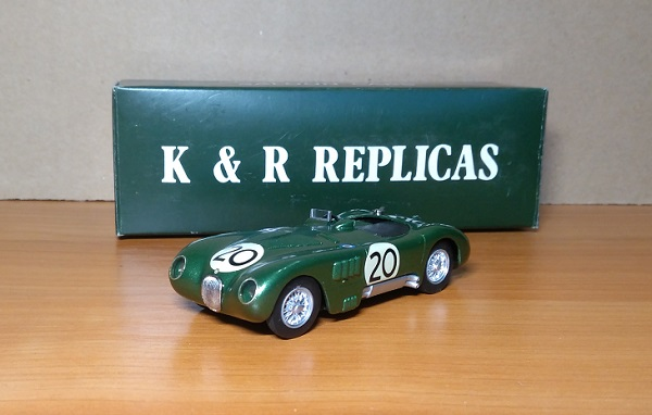 Модель 1:43 Jaguar C-Type 1951 Le Mans Winner