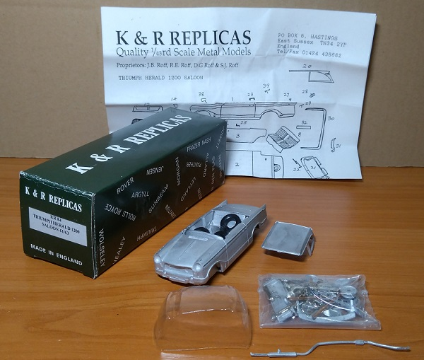Модель 1:43 Triumph Herald 1200 Saloon 61/63 (KIT)