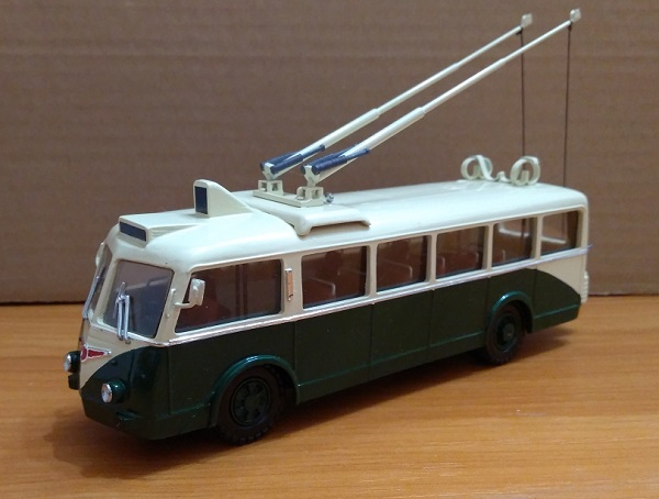 Модель 1:50 Vetra CS 60 Trolleybus (FRANCE)