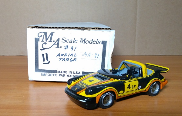 Модель 1:43 Porsche 911 Targa SCCA & Production Winner 1977 (ANDIAL)