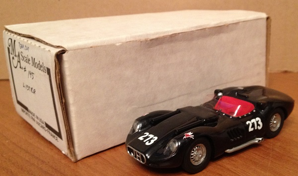 Модель 1:43 Lister Chevrolet, Examiner Grand Prix, Pomona 1959, Jim Hall