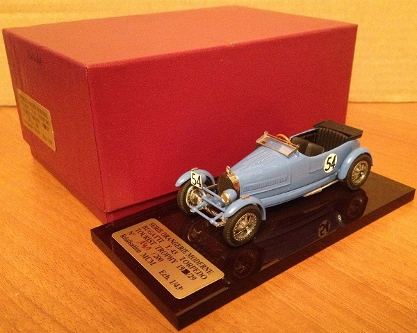 Модель 1:43 Bugatti T 43 Torpedo Tourist Trophy (L.E 141 of 200 pcs)